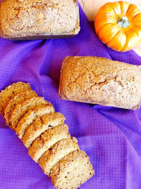dairy-free pumpkin bread