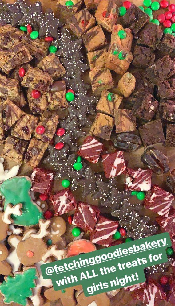cookie dessert board