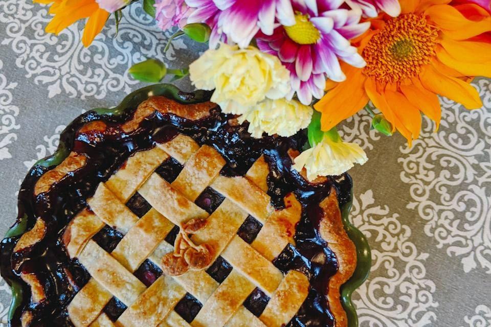 red wine berry pie vegan dairy-free